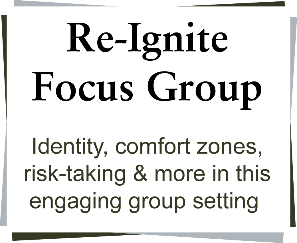 Identity comfort zones, risk-taking & more in this engaging group setting.